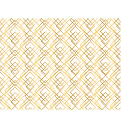 golden texture seamless geometric pattern vector image
