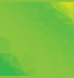 green poly abstract background vector image