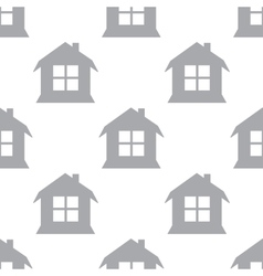 New House seamless pattern vector image