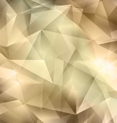 Crystal Brown Background vector image