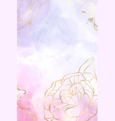 abstract lavender liquid watercolor background vector image