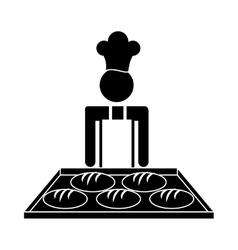Baker Service design vector image
