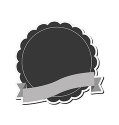 emblem or badge icon vector image