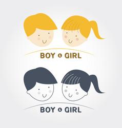 kid icon kid symbol child icon child symbol child vector image