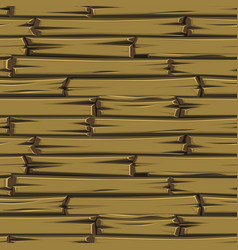 seamless texture wooden planks brown old floor vector image
