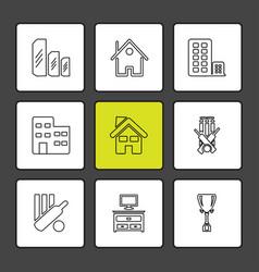 sports games atheletes eps icons set vector image
