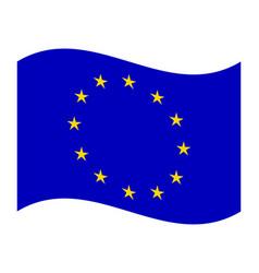 European union flag vector