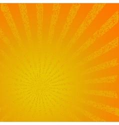 Sunbeam vector image