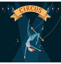 Circus acrobat vector