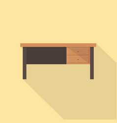 desk icon set of great flat icons use for vector image
