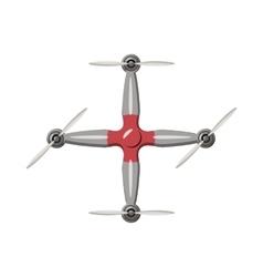 Drone icon cartoon style vector image