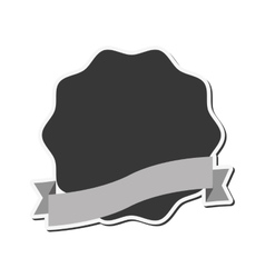 emblem or badge icon vector image vector image