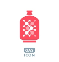 Gas icon vector