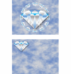 Jewelry backgrounds vector
