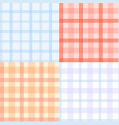 Plaid pattern seamless vector