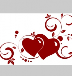 St valentine theme vector