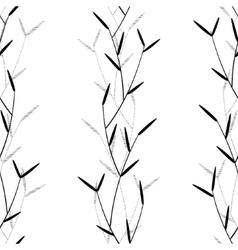 Herbal seamless vector image vector image
