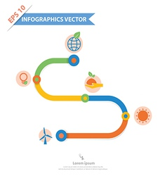 Infographics 90002 vector image