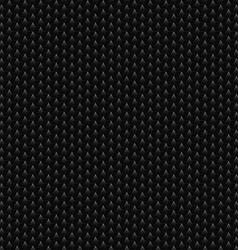 Black Hexagonal Texture vector image vector image