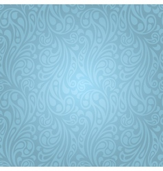 Water splash seamless waves abstract pattern vector image vector image