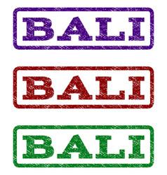 bali watermark stamp vector image