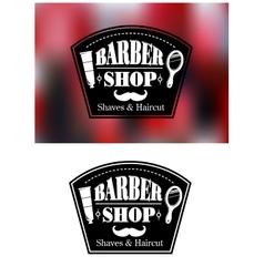 Barber Shop signs vector
