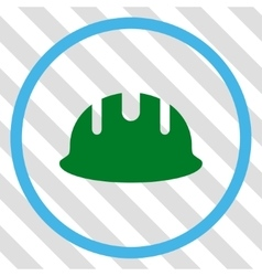 Builder Hardhat Icon vector