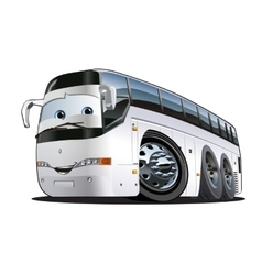 Cartoon Tourist Bus vector image