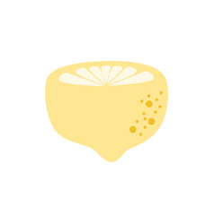 colorful delicious and fresh lemon tropical fruit vector image