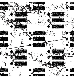 Dotted list pattern grunge monochrome vector