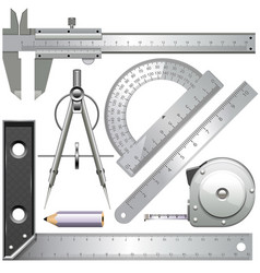 Measuring tools vector