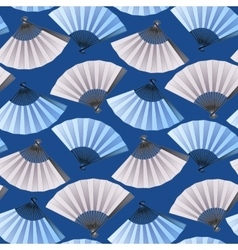 Pattern of fans vector