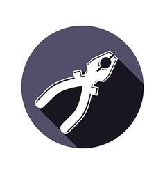 Pliers icon vector