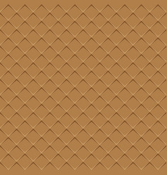 rhombuses brown seamless background vector image