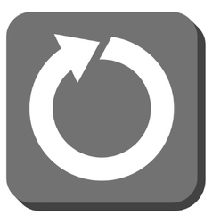 Rotate Rounded Square Icon vector