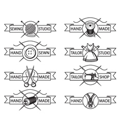 Tailor labels vector