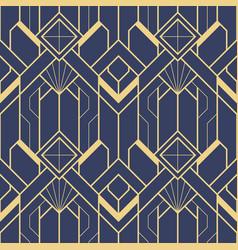 Template abstract art deco blue cs6 vector