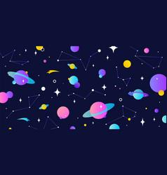 universe cosmos universe cosmos and space vector image