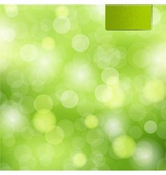 Nature Background With Label vector image vector image