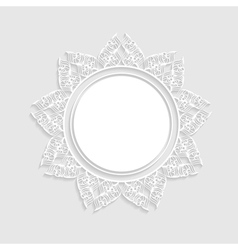 light background with a frame vector image