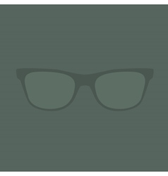 glasses Retro Background vector image vector image