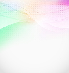 Soft light lines abstract background vector image