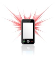 Phone as camera vector image vector image