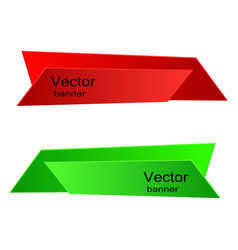 banner for web design eps 10 vector image