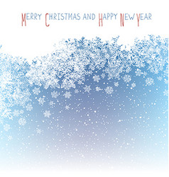 Christmas Postcard New Year Greeting Isolated vector image