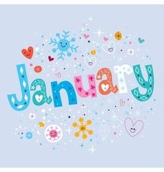 January vector