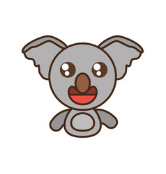 Koala baby animal kawaii design vector