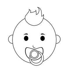 Male baicon image vector