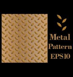 Texture pattern of metal vector
