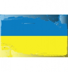 ukraine national flag vector image